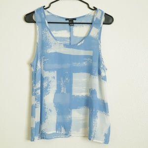 Forever 21 Flowy Printed Tank Top